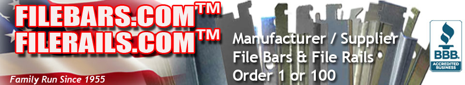 Mfr-Supplier-File Bars-File Rails