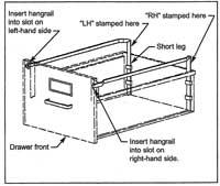 1 Drawer Locking File Cabinet